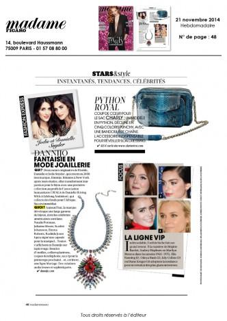 Madame Figaro 21-11-2014