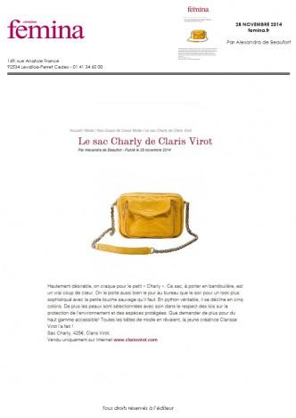 Femina.fr 28-11-2014
